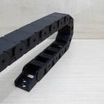 18 X 25 mm Cable Drag Chain ยาว 1M เปิดฝาวางสายได้ และ End Fits หัวท้าย