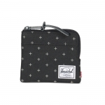 Herschel Johnny Wallet - Black Gridlock