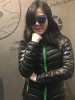 KAEMP8848 DOWN JACKET FOR WOMEN (Sisapangma) เสื้อขนเป็ดสำหรับ -10 ถึง -15 องศา - BLACK (GREEN ZIP)