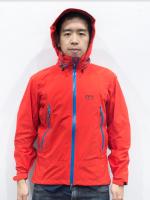 KAEMP 8848 Windstopper รุ่น Ice Tube สี Red สำหรับผู้ชาย (เสื้อกันลมกันน้ำที่ดีที่สุด)