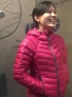 KAEMP8848 DOWN JACKET FOR WOMEN (Sisapangma) เสื้อขนเป็ดสำหรับ -10 ถึง -15 องศา - PINK (GREY ZIP)