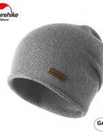 Nature Hike Wool beanie hat (Grey)