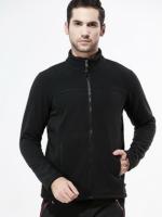 Men's Full Zip Fleece (black) สำหรับ 5-15 องศา
