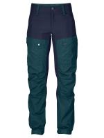 Fjallraven - Keb Trousers W Short - GlacierGreen