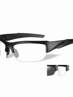 WileyX Valor - 2 Lens- Smoke Grey - Clear (Frame - Matte Black)