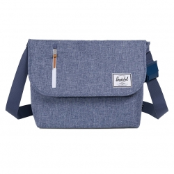 Herschel Odell Messenger - Dark Chambray Crosshatch