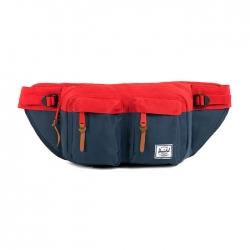Herschel Eighteen Hip Pack - Navy / Red