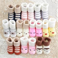 Baby Touchถุงเท้าเด็ก ข้อเท้าหนา รูปสัตว์ (Socks - SA)