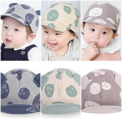 หมวกเด็ก แก๊ปหูกลมอีโมจิ (Hat - BV)