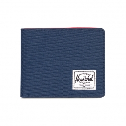 Herschel Roy Wallet - Navy / Red / RFID