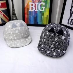หมวกเด็ก แก๊ปแมวดาวกระจาย (Hat - BX)