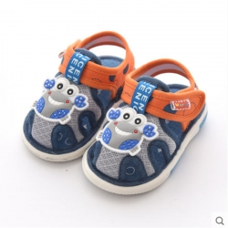 Baby Touch รองเท้าเดินมีเสียง ใส่สบาย ปูก้ามโต (Shoes - FSC2)