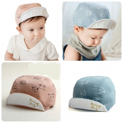 Baby Touch หมวกเด็ก แก๊ปลายแมว (Hat - AE)