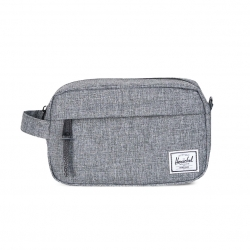 Herschel Chapter Travel Kit | Carry-On - Raven Crosshatch