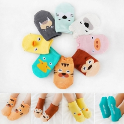 Baby Touch ถุงเท้าเด็ก สั้นบาง สวนสัตว์ (Socks - SZ)