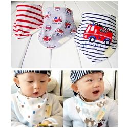 Baby Touch ผ้ากันเปื้อนเด็ก เซตเบสิค 3 ผืน (Bibs - BSB)