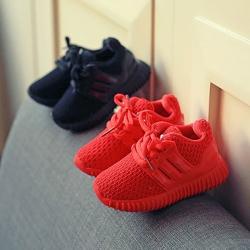 รองเท้าเด็ก รองเท้าพื้นแข็ง ทรงกีฬา สปอร์ต (Shoes - FHA4)