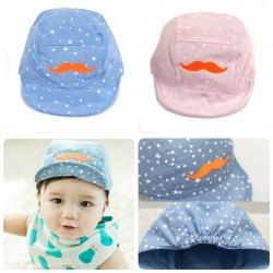 Baby Touch หมวกเด็ก แก๊ปหนวดส้ม (Hat - AD)