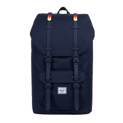Herschel Little America - Peacoat / Rainbow Chevron Rubber