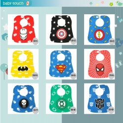 Baby Touch ผ้ากันเปื้อนเด็ก ฮีโร่ (Bibs - BH)