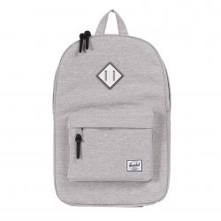 Herschel Heritage Backpack - Light Grey Crosshatch / White