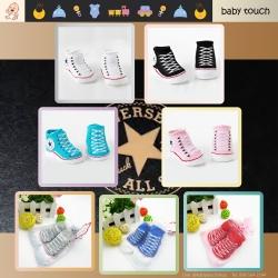 Baby Touch ถุงเท้าเด็ก รุ่นพรีเมี่ยม สั้นบาง Converse (Socks - SC)