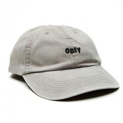 OBEY Jumble Bar Hat - Charcoal