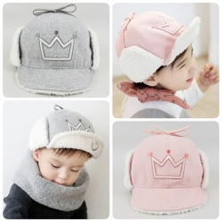 Baby Touch หมวกเด็ก พรีเมี่ยม แก๊ป Biker Winter (Hat - AS)