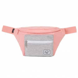 Herschel Seventeen Hip Pack - Peach / Light Grey Crosshatch