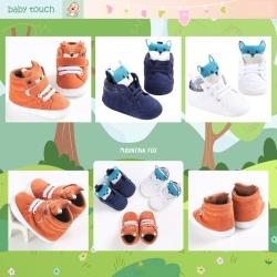 Baby Touch รองเท้าหัดเดิน จิ้งจอกหุ้มข้อ (Shoes - FB3)