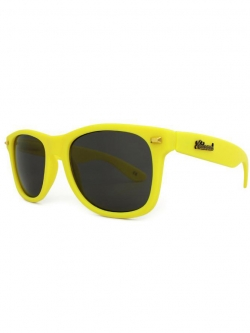 Knockaround Fort Knocks Sunglasses - Yellow Smoke