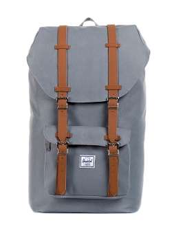 Herschel Little America - Grey / Tan