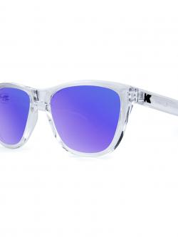 Knockaround Premiums Sunglasses - Clear Moonshine
