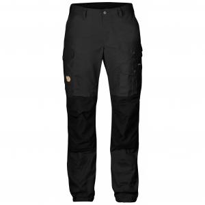 Fjällräven - กางเกงเดินป่าเดินเขารุ่น Vidda Pro Trousers Short for women - Dark Grey