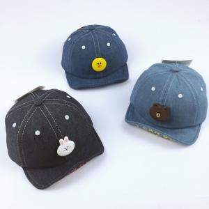 Baby Touch หมวกเด็ก พรีเมี่ยม แก๊ปยีนส์ Friends (Hat - ABC)