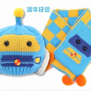 Baby Touch เซ็ตหมวกผ้าพันคอ พรีเมี่ยม รุ่นหมีเท็ด (Hat - SFA)