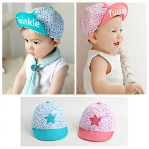 Baby Touch หมวกเด็ก แก๊ปลายดาว Twinkle (Hat - AL)