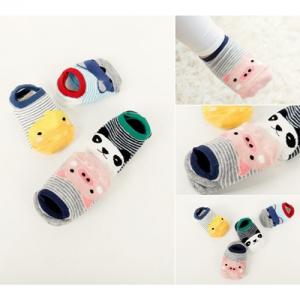 Baby Touch ถุงเท้าเด็ก สั้นบาง ขุนเขาลำเนาไพร (Socks - SM)