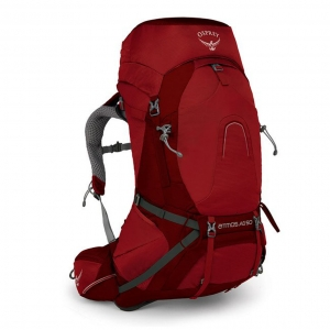 Osprey Atmos AG 50 L for Men - Red