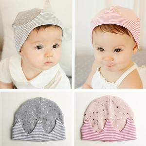Baby Touch หมวกผ้านิ่ม เจ้าชายน้อย/เจ้าหญิงน้อย (Hat - FJ)