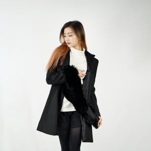 Overcoat Classic belt - Black