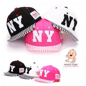 Baby Touch หมวกเด็ก พรีเมี่ยม แก๊ปตัวอักษร NY (Hat - AP)