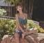ชุดว่ายน้ำทรีพีช มีโครง มีฟองน้ำเสริม+ช่องสามารถถอดเสริมฟองน้ำได้ thumbnail 5