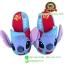 รองเท้าพื้นหนา สติช 3D ลายดอกชบา [Disney] thumbnail 1