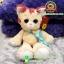 ตุ๊กตาแมวขายาวบิ๊กอาย 10.5 นิ้ว [Anee Park] thumbnail 1