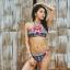 ชุดว่ายน้ำทูพีช ลายกราฟฟิค พร้อมส่ง ไซส์ (S M) thumbnail 1