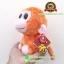 ตุ๊กตาลิงตาโตสีส้ม ท่านั่ง 6 นิ้ว [ANEE PARKS] thumbnail 3