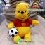 ตุ๊กตาพูห์ 10 นิ้ว ชุดทีมบราซิล ผ้า 1C [Disney] thumbnail 1