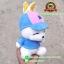 ตุ๊กตา Mashimaro ชุดเสื้อกันหนาวสีฟ้า 8 นิ้ว thumbnail 3