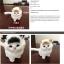 ตุ๊กตาจำลองแมวนั่ง สีขาว 11x15 CM [มีเสียง] thumbnail 5